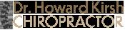 Dr. Howard Kirsh North York Chiropractor Chiropractic Logo